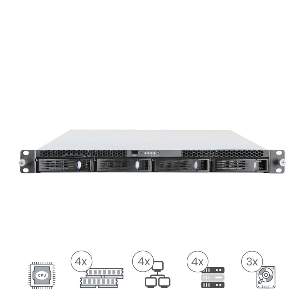 ProServe IT-1043 Rack 1U Bajo consumo