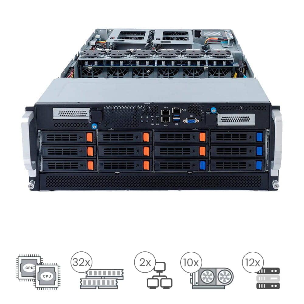 ProServe GP-410E2-12N8 Powered By Gigabyte