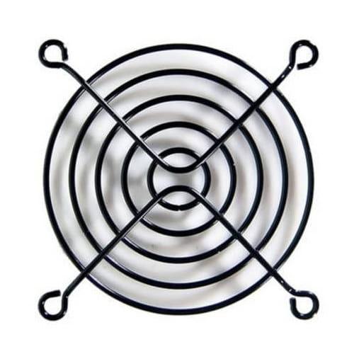 Rejilla metalica 120x120 Negra