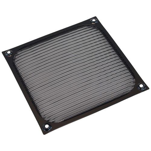 Phobya 80112. Filtro de plástico 140x140mm. Color Negro.