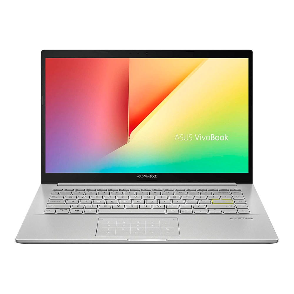 Asus VivoBook 14 K413EA-EB608T. i7-1165G7. 8Gb. SSD 512Gb. W10H. Plata.