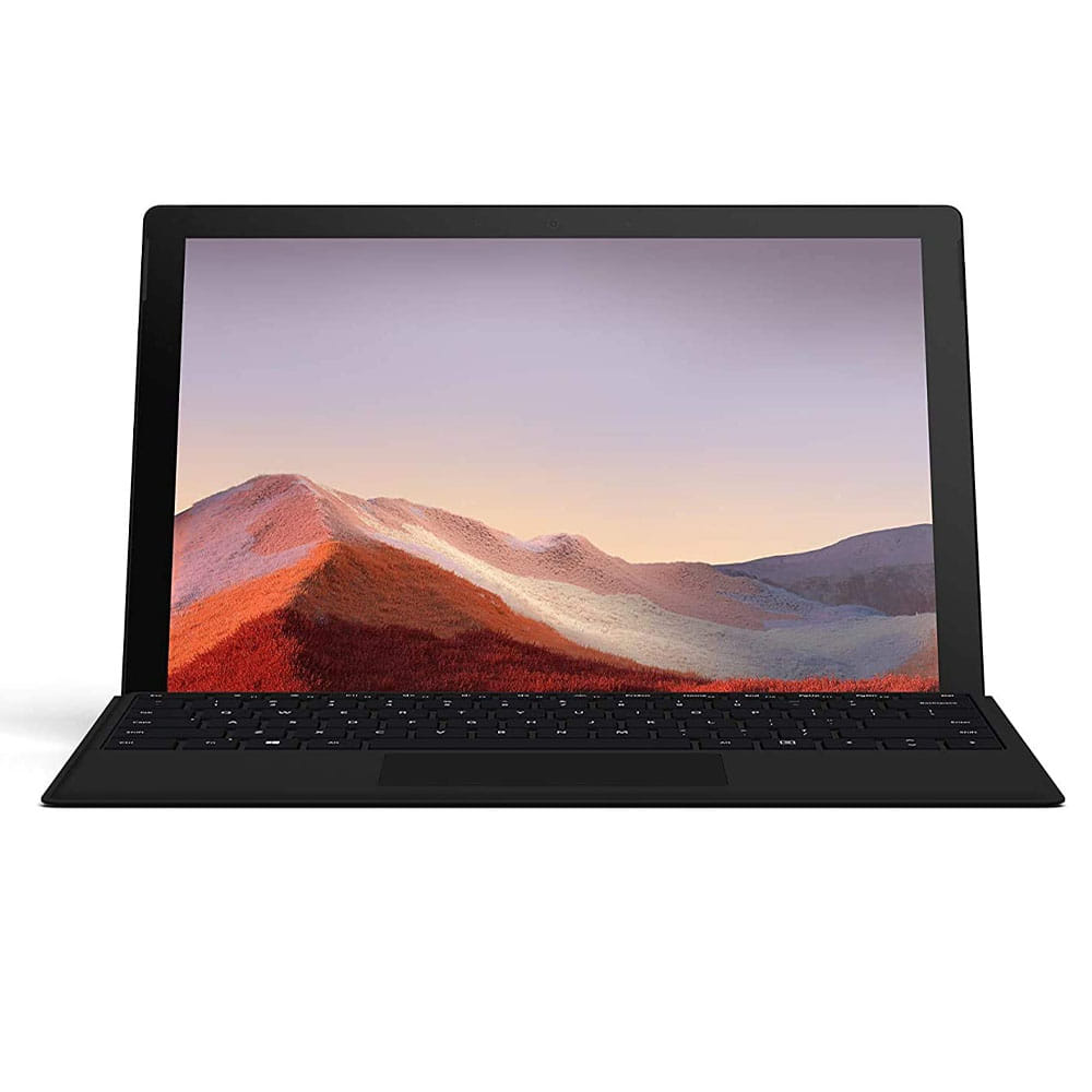 Microsoft Surface Pro7. i5-1035G4. 8Gb. SSD 256Gb. Negro + Teclado