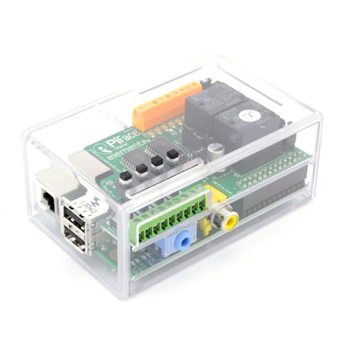 Caja para KIT Raspberry Pi + PiFace Transparente