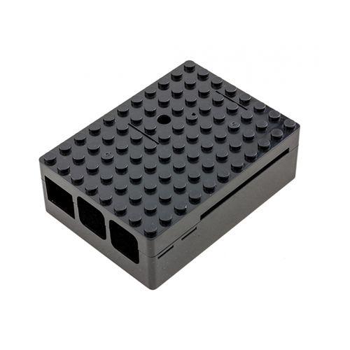 Caja Negra  tipo block Lego para Raspberry Pi con 4 USB