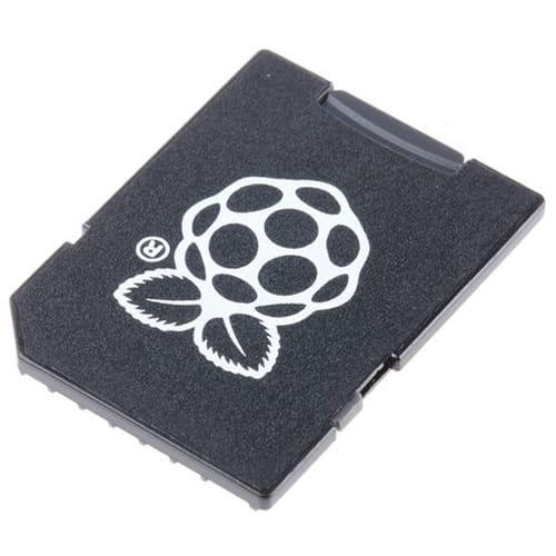 SD/MicroSD 16Gb con NOOBS 2.1 con 7 sistemas operativos Raspberry Pi