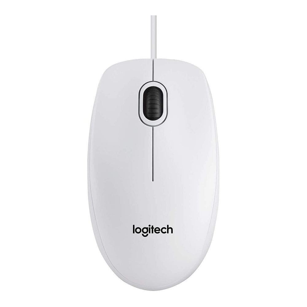 Logitech B100 USB Blanco