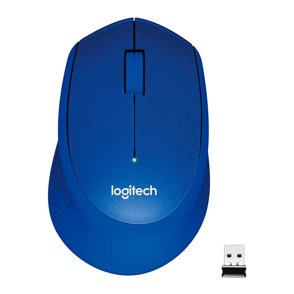 Logitech M330 Azul. Ratón inalámbrico.