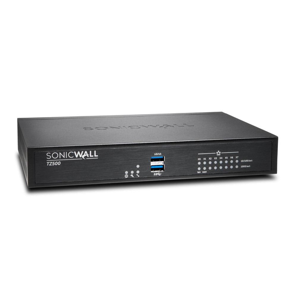 SonicWall TZ500. UTM y Firewall Avanzado 8 puertos GbE