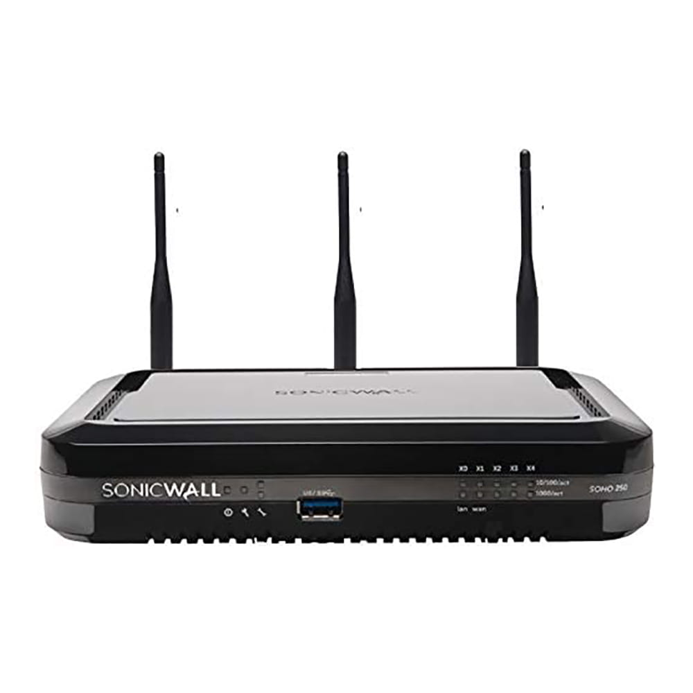 SonicWall SOHO 250 Wireless-N TotalSecure Advanced Edition