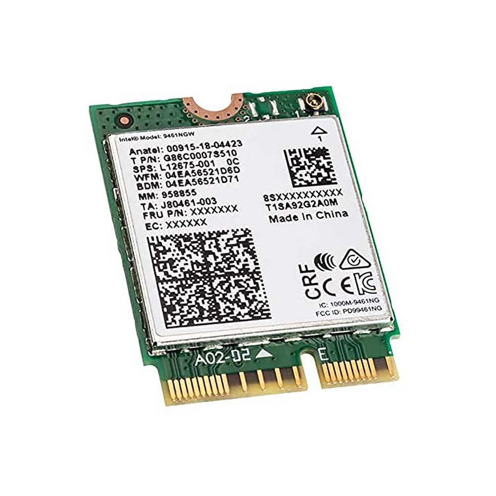 Intel WLAN-AC 9461 433Mb/s M.2. BULK