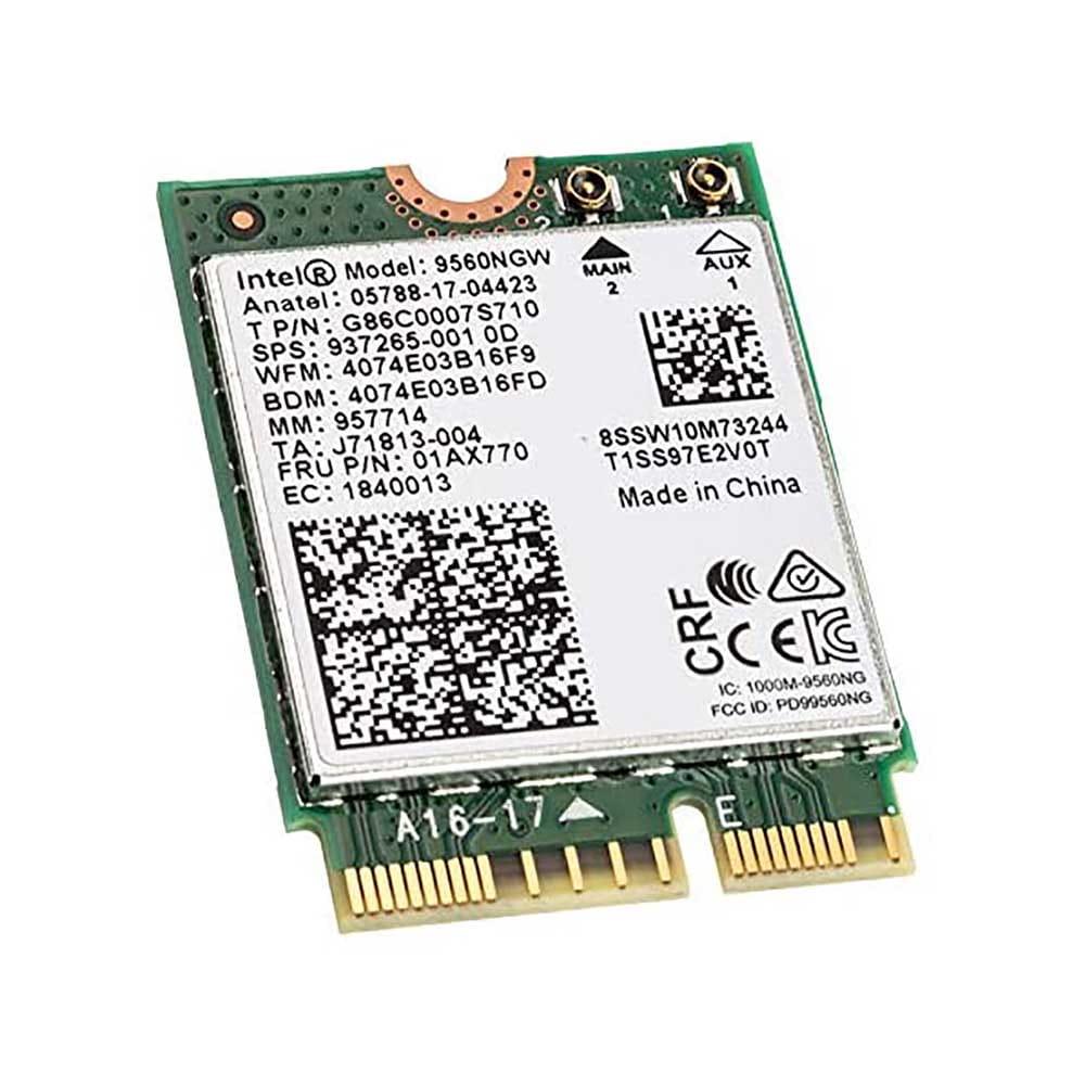 Intel WLAN-AC 9560 1730Mb/s M.2. BULK.