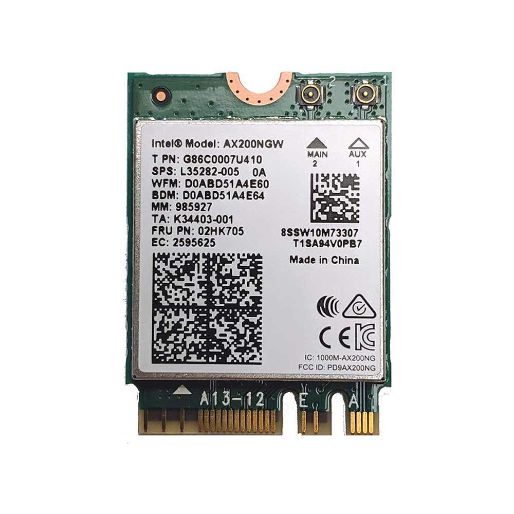 Intel WLAN 6 AX200 2400Mb/s M.2. BULK.