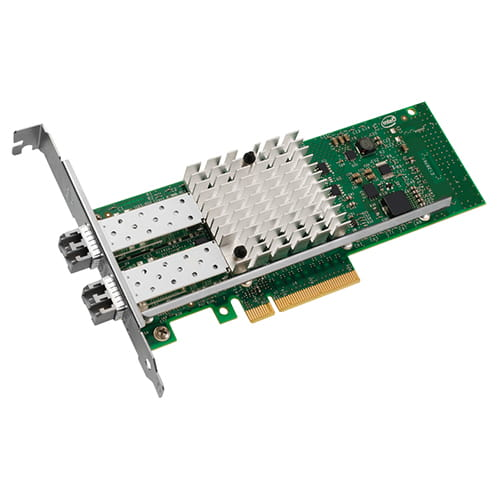 Intel X520-SR2. Tarjeta de red fibra 10Gb 2-Port