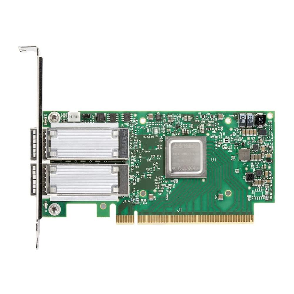 Mellanox MCX414A-BCAT ConnectX-4. Tarjeta de red 40/56GbE 2x QSFP28.