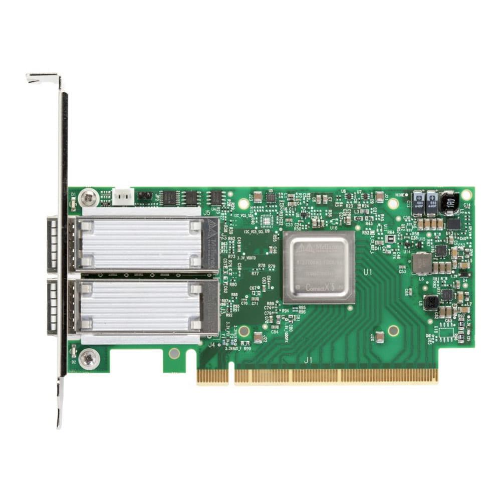 Mellanox MCX516A-GCAT ConnectX-5. Tarjeta de red 50GbE 2x QSFP28.