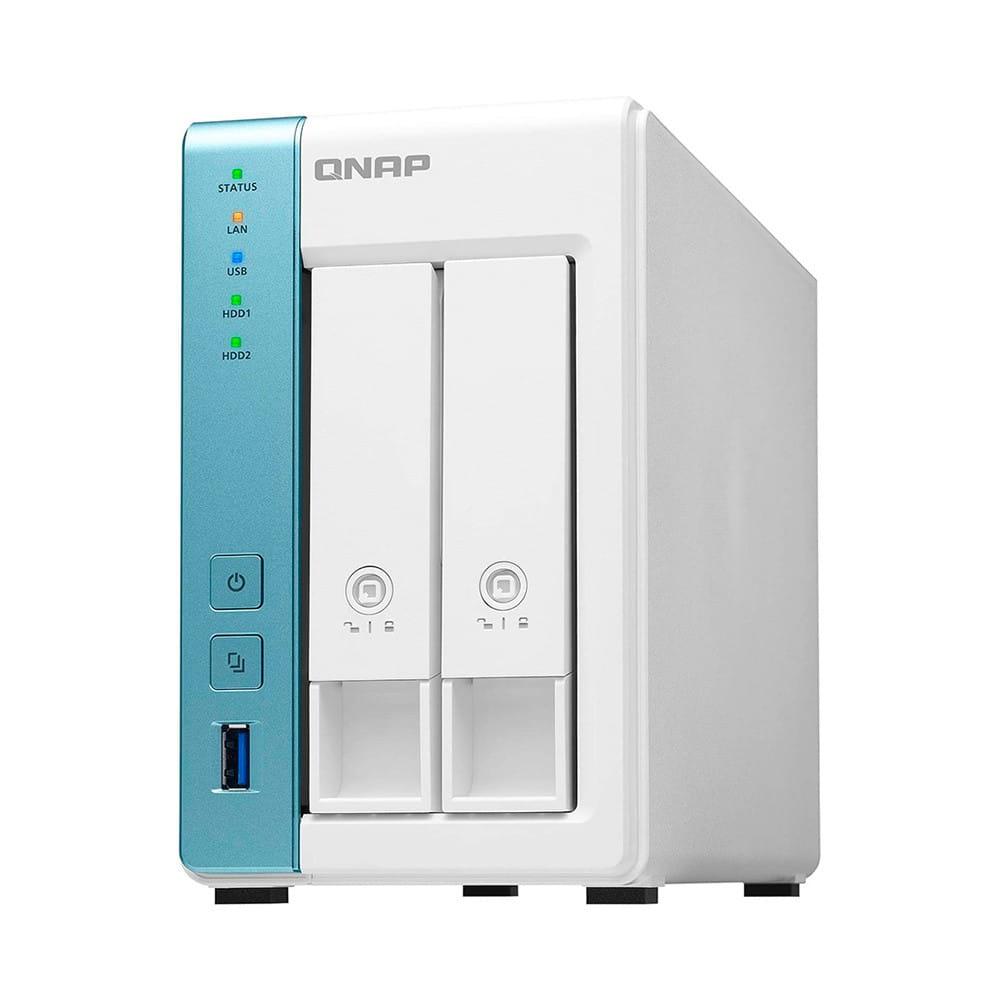 QNAP TS-231K NAS Ethernet Tower Blanco AL-214