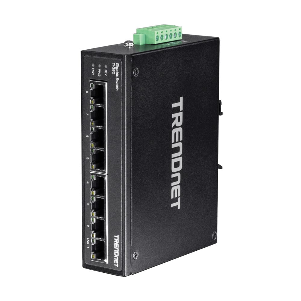 Trendnet TI-G80. Switch DIN-RAIL Gigabit 8 Puertos.