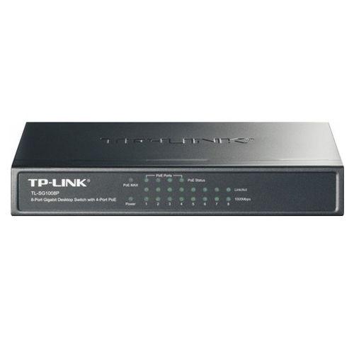TP-Link TL-SG1008P Switch 8 Puertos