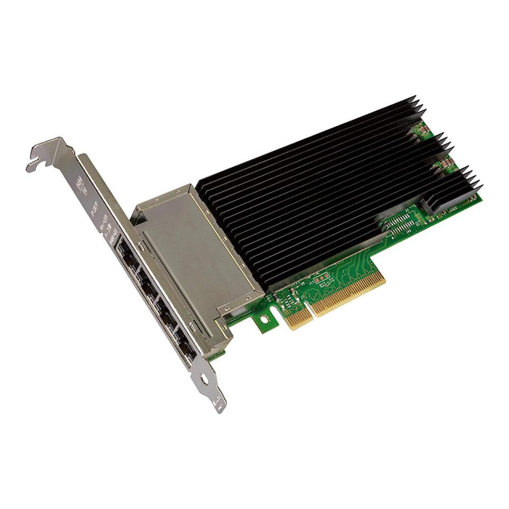 Intel X710-T4. Tarjeta de red 4x RJ45 10GBase-T PCIe. BULK.