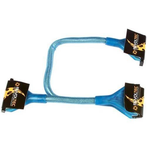 Revoltec RC004. Cable IDE ATA133 redondo, UV activo, 60cm