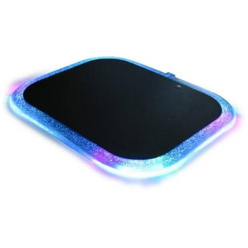 Revoltec RE004. Alfombrilla LightPad con luz. 280x226x6mm.