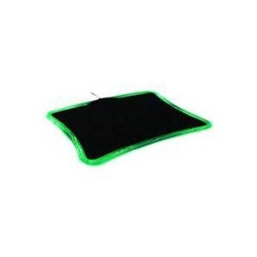 Revoltec RE012. Alfombrilla  LightPad Precision Verde. 290x230x7mm.