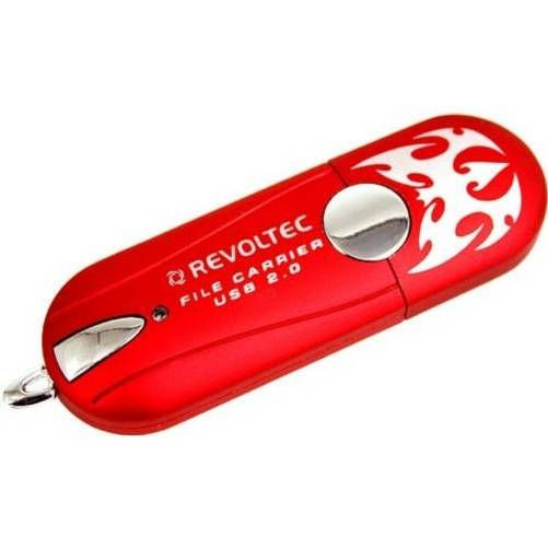Revoltec RP001. Memory File Carrier 256Mb Rojo
