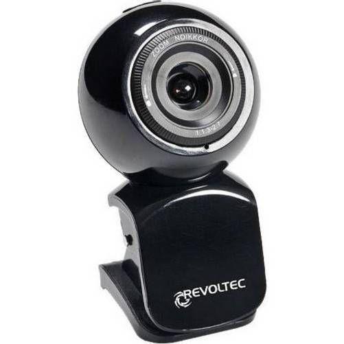 Revoltec RZ041. Webcam W1 Negra