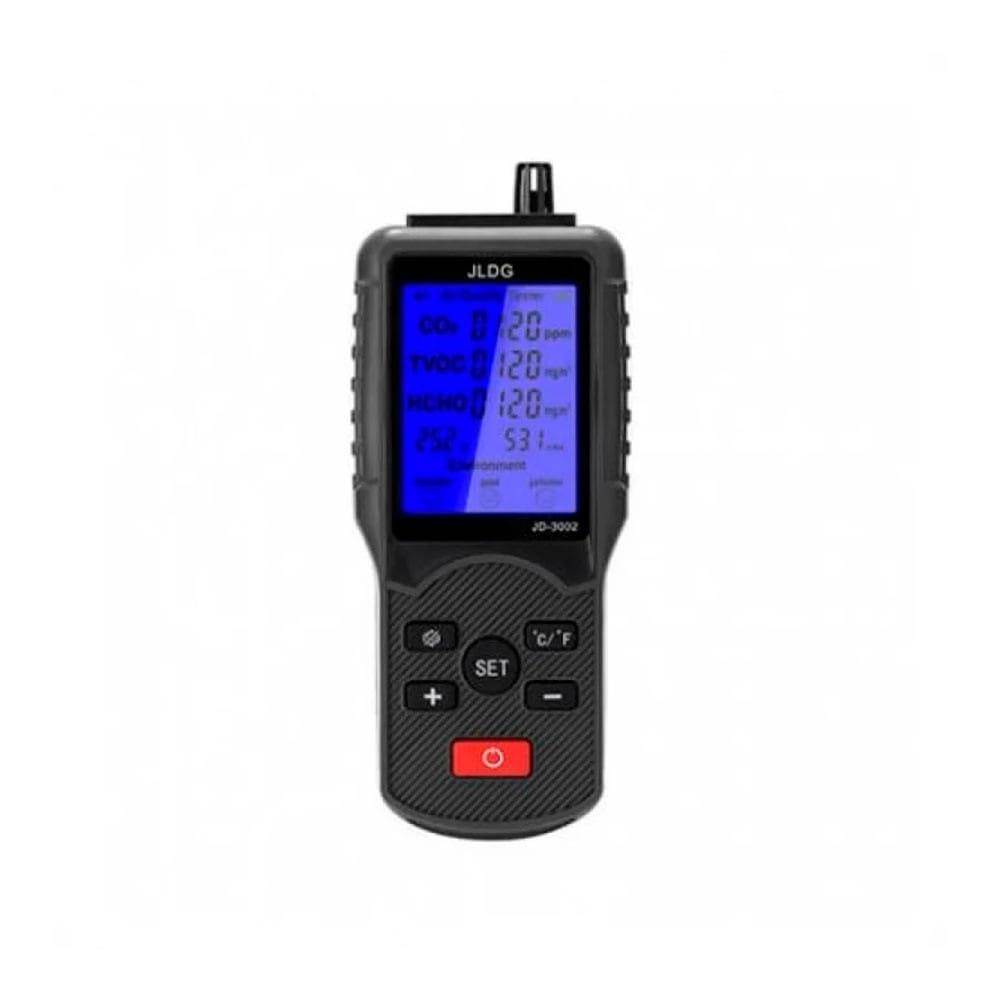 Phasak JD 3002 Medidor CO2 Negro