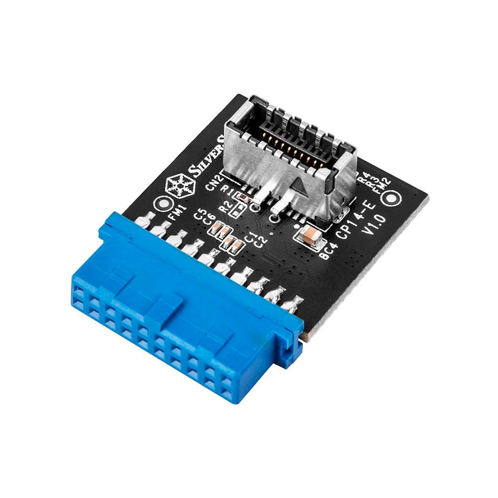 SilverStone SST-CP14-E. Adaptador conector USB 3.0 interno.