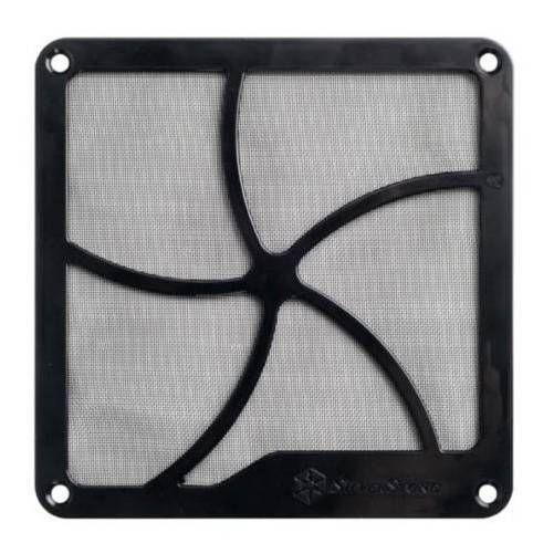 SilverStone FF122B. Rejilla+Filtro magnetico para ventilador de 120mm