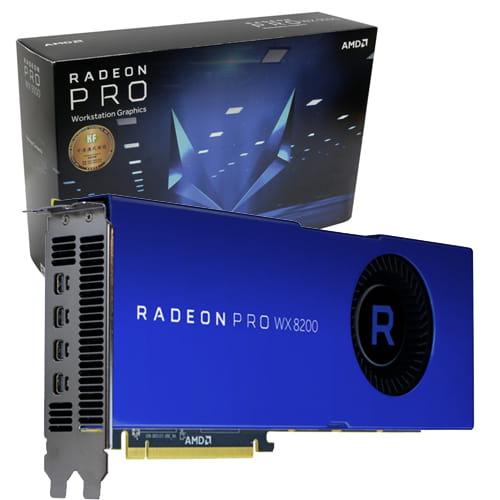 AMD Radeon Pro WX8200 8Gb HBM2