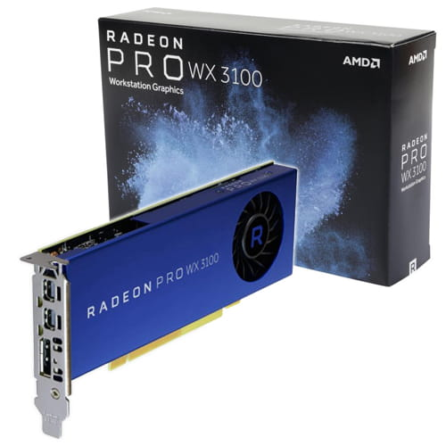 AMD Radeon Pro WX3100 4Gb GDDR5