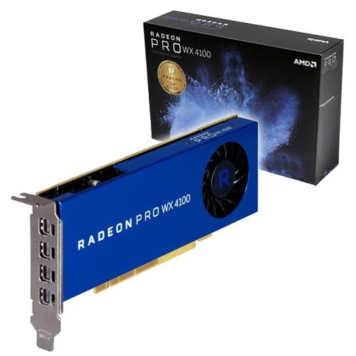 AMD Radeon Pro WX4100 4Gb GDDR5