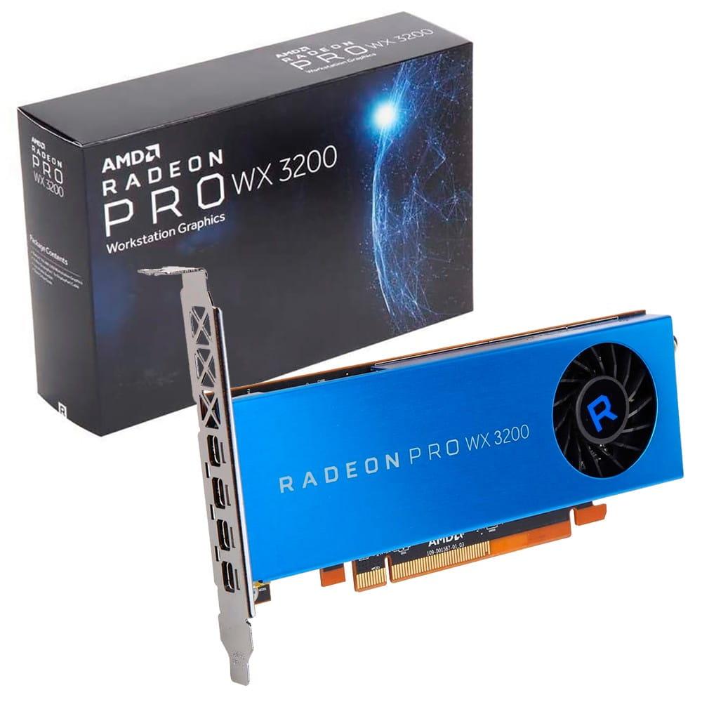 AMD Radeon Pro WX3200 4Gb GDDR5