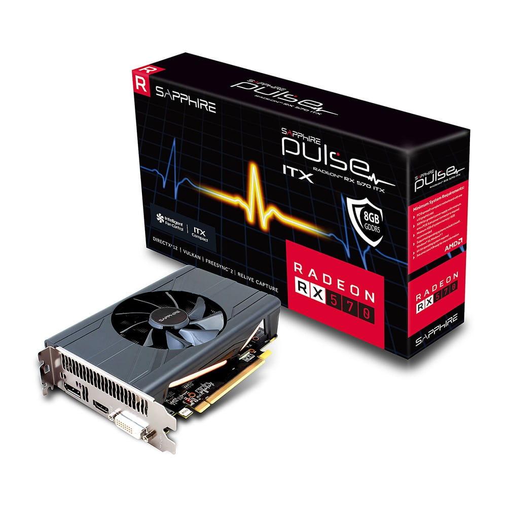 Sapphire RX 570 Pulse ITX 8Gb GDDR5
