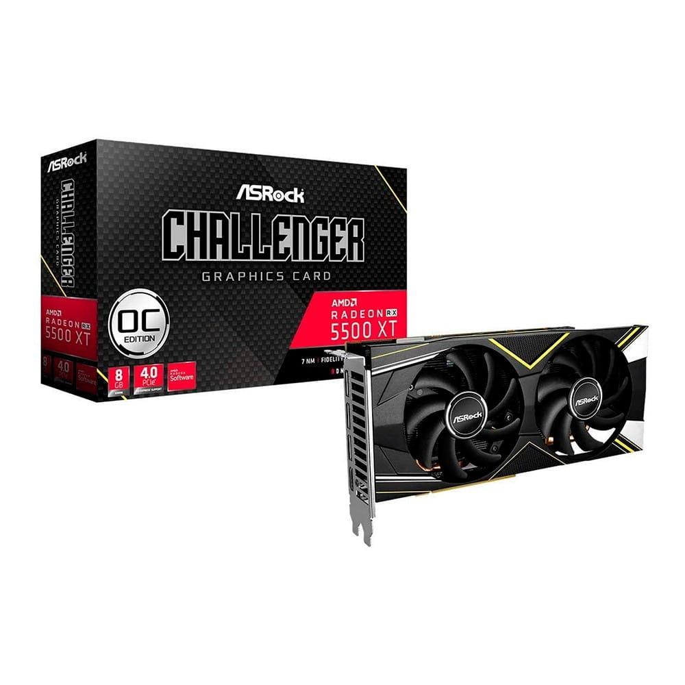 AMD RX 5500 XT Challenger D OC 8Gb GDDR6
