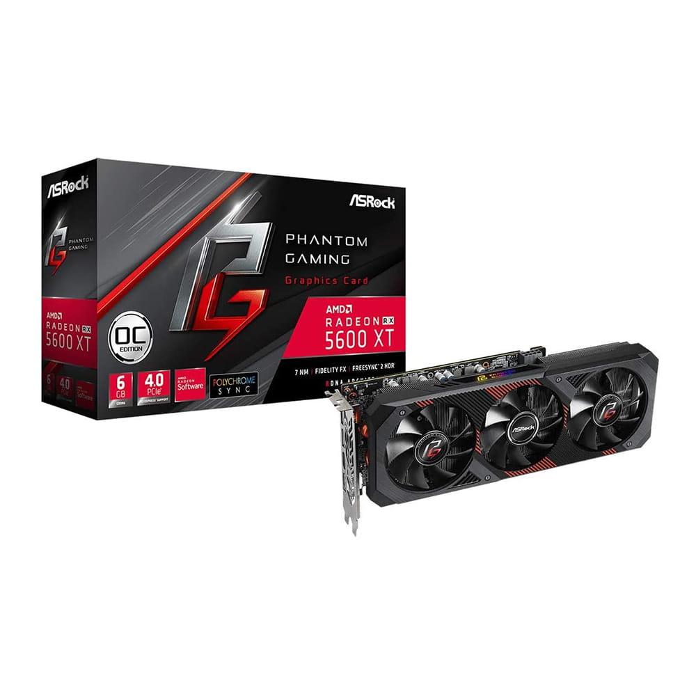Asrock RX 5600 XT Phantom Gaming OC 6Gb GDDR6