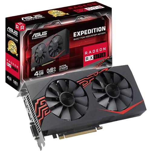 Asus Radeon EX-RX570-4G 4Gb GDDR5