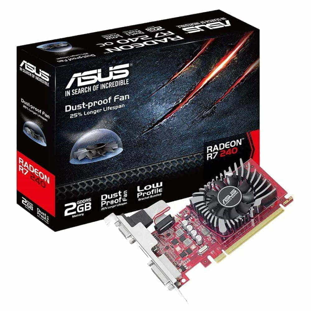 Asus Radeon R7 240 2Gb GDDR5