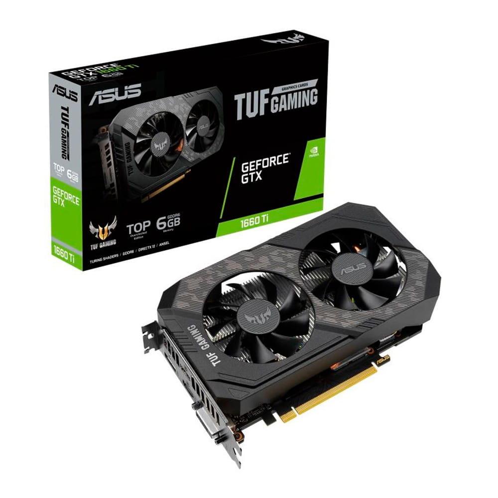 Asus TUF Gaming GTX 1660 Ti 6Gb GDDR6