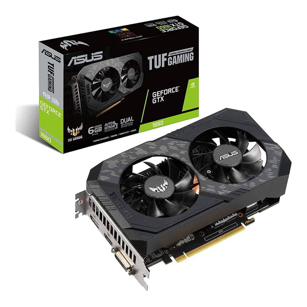 Asus GTX 1660 TUF Gaming 6Gb GDDR5