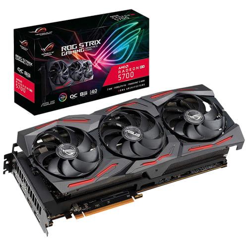 Asus ROG Strix Radeon RX 5700 OC. 8Gb GDDR6.