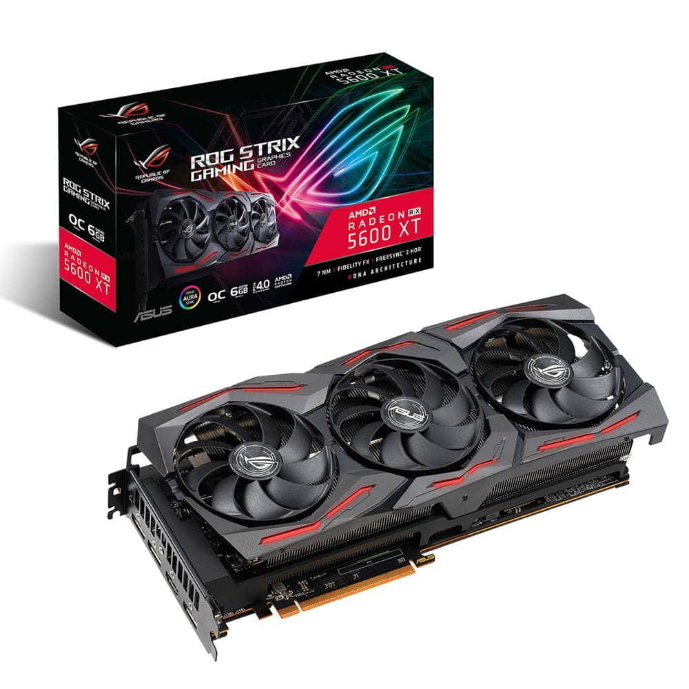 Asus ROG Strix Radeon RX 5600XT OC Gaming. 6Gb GDDR6.