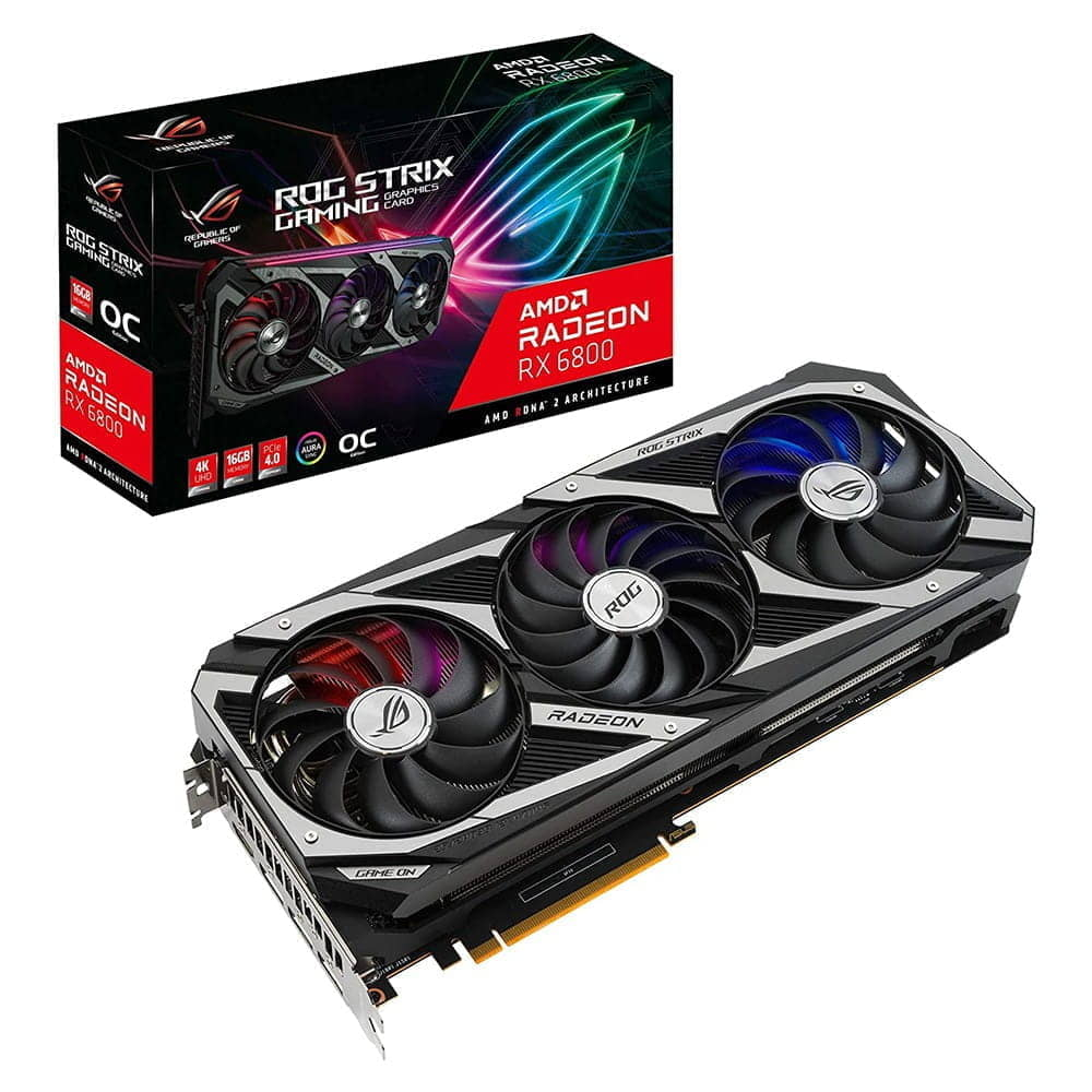 Asus RX 6800 Rog Strix Gaming 16Gb GDDR6