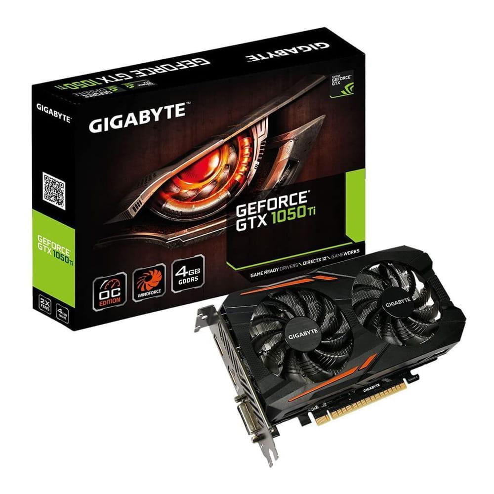 Gigabyte GTX 1050Ti OC 4Gb GDDR5