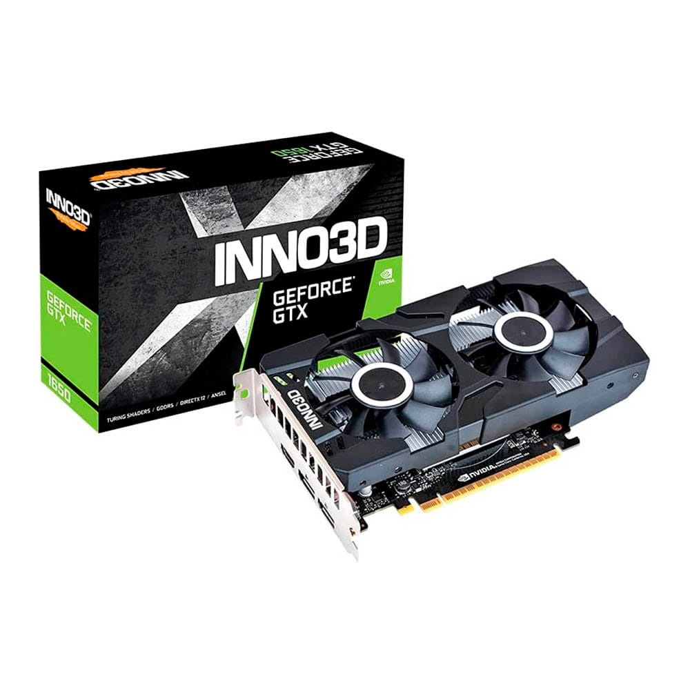Inno3D GTX 1650 Twin X2 OC 4Gb GDDR6