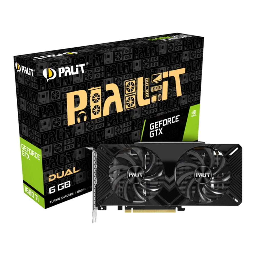 Palit GTX 1660 Ti Dual 6Gb GDDR6