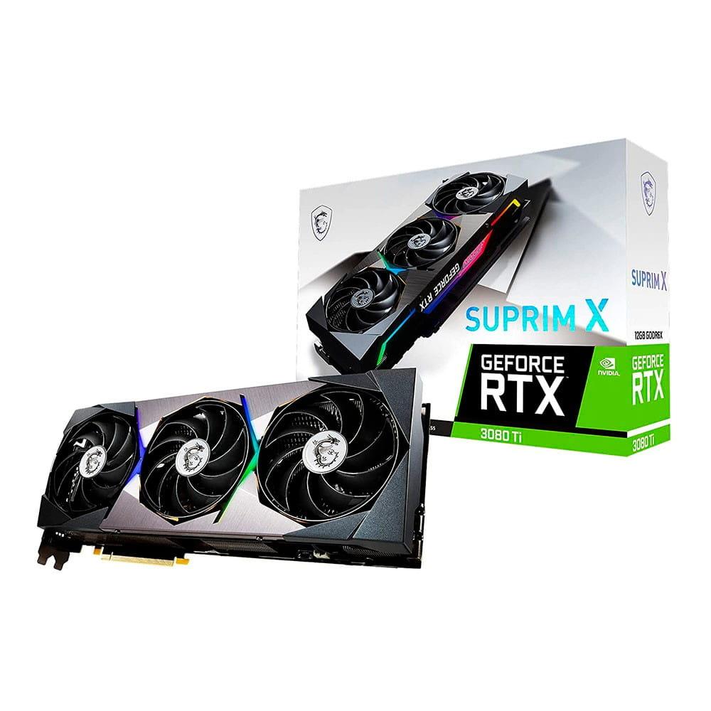 Msi RTX 3080 Ti Suprim X 12Gb GDDR6X