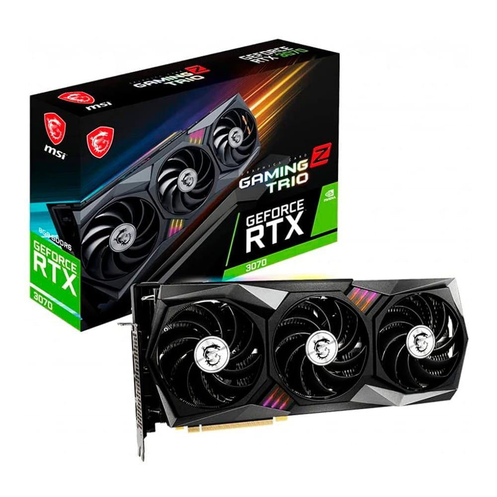 Msi RTX 3070 Gaming Z Trio 8Gb GDDR6 LHR